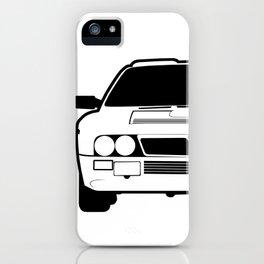 Lancia 037 Stradale Vector iPhone Case
