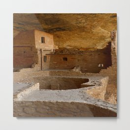 Balcony House View - Mesa Verde Metal Print