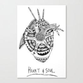 Heart & Soul Canvas Print