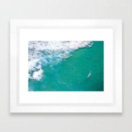 Surfing Day II Framed Art Print