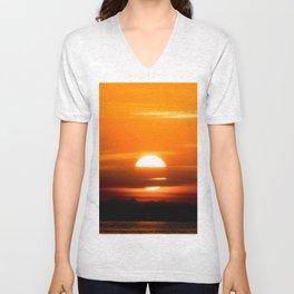 Sharm Sunrise 8 Unisex V-Neck