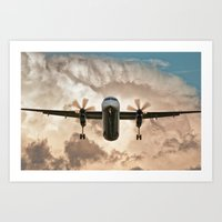 aviation Art Prints featuring Aviation Series by Jose Renteria Cobos