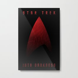 Star Trek Into Darkness (Engineer) Metal Print