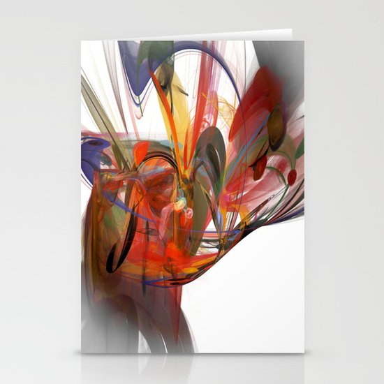 Beautiful Chaos Stationery Cards