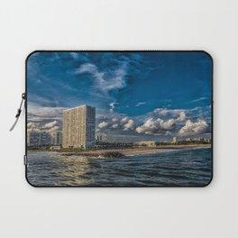 Modern Condos on Fort Lauderdale Beach Laptop Sleeve