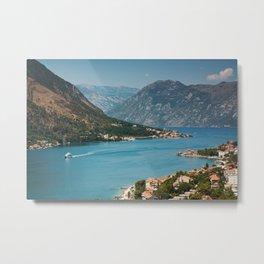 Bay Of Kotor Metal Print
