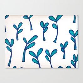 Leaf Print Canvas Print