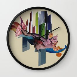 the coming tide Wall Clock