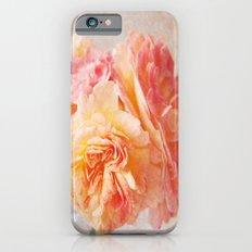 Textured Pastel Rose Slim Case iPhone 6s