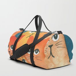Santa Fe Whimsical Cats Duffle Bag