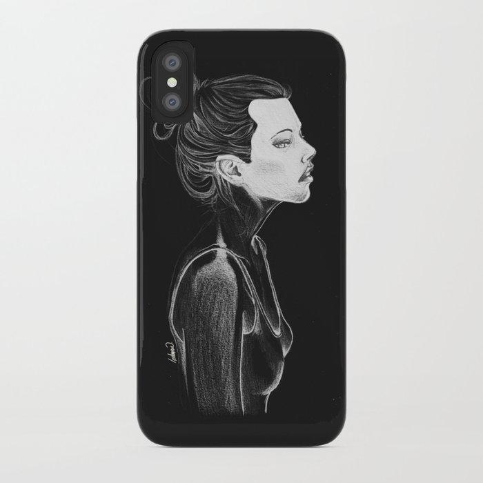 Dark Girl iPhone Case