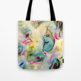 green absstract Tote Bag