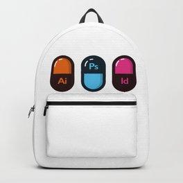 Graphic Designer starter pack Backpack