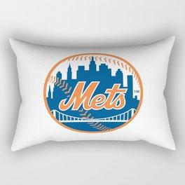 New Yorks Mets Rectangular Pillow