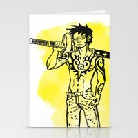 law Stationery Cards featuring Trafalgar Law by Sammerdoodle Designs
