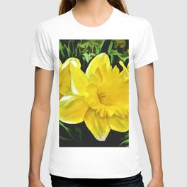 The Yellow Daffodil Happy Easter T-shirt