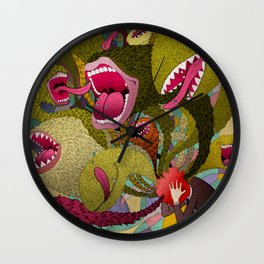 Mouthy Wall Clock