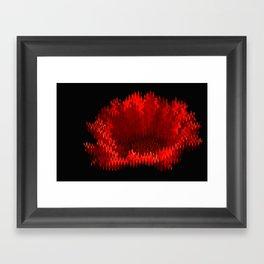 Gerbera On Fire Framed Art Print