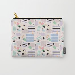 Postmodern Pastel Palette Carry-All Pouch