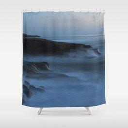 Ocean Beach San Diego Ca, Sunset Shower Curtain