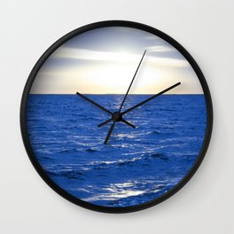 Heavenly Blues - Gagliano Photography Wall Clock