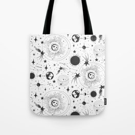 Solar System - White Tote Bag