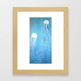 """""""Jellyfish Dance"""" Framed Art Print"""