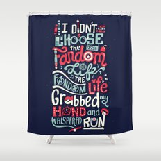Fandom Life Shower Curtain