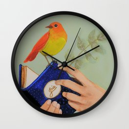 livre de joie Wall Clock