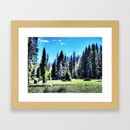 Open into the Wild  Framed Art Print