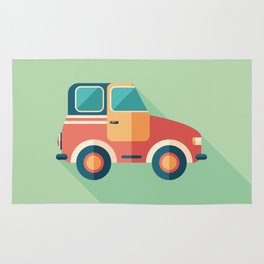 Toy Retro Car Rug