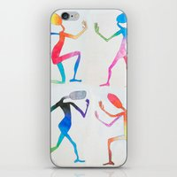 asexual iPhone & iPod Skins featuring Human Transitioning by aalexhayes