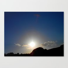 Canyon Sunset Canvas Print