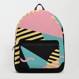 Memphis Pattern 28 / 80s - 90s Retro Backpack