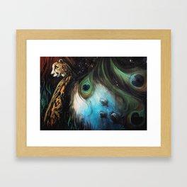 Gaia's Garden 2 Framed Art Print