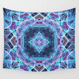 Mirror Cube Wall Tapestry