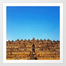 Borobudur, Indonesia temple Art Print