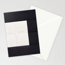 Black & White 02 Stationery Cards