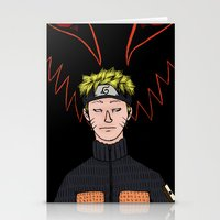 naruto Stationery Cards featuring Naruto by nu boniglio