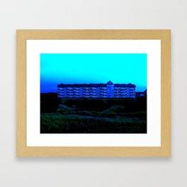 House of Blue Framed Art Print