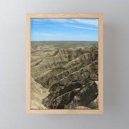 A Rugged Landscape Framed Mini Art Print