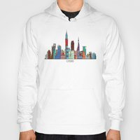 cleveland Hoodies featuring Cleveland city  by bri.buckley