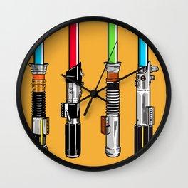Lightsaber Wall Clock