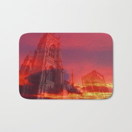 Fire from the Pulpit Bath Mat