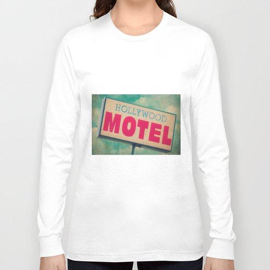 The Hollywood No-Tell Motel Long Sleeve T-shirt