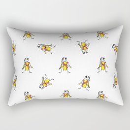 Scarecrows Pattern Design Rectangular Pillow