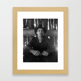 El Guajiro Framed Art Print