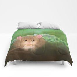 Little Worried Walter Comforters