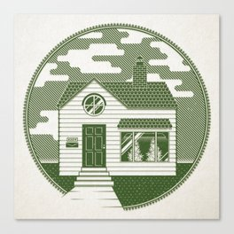 The Grow House Canvas Print