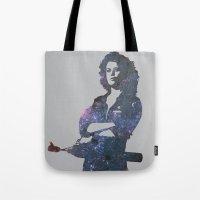 ripley Tote Bags featuring Ellen Ripley - Alien by pennyprintables